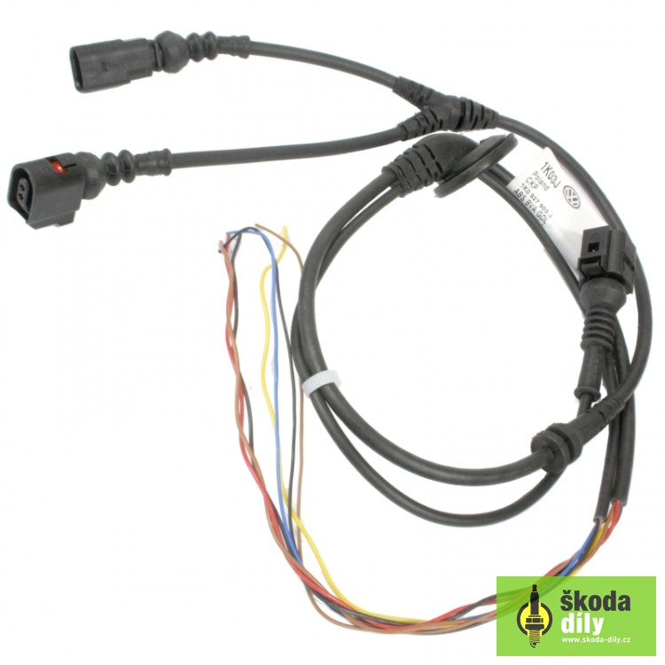 Wheel Speed Sensor Electrical Wiring genuine part 1K0927903J