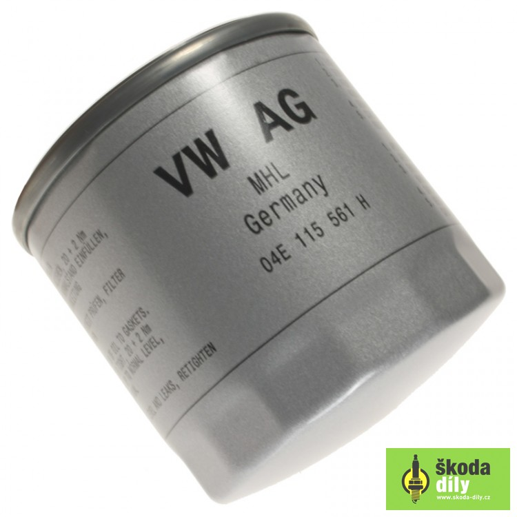 oil filter 10mpi 10tsi 15tsi Škoda 04e115561h