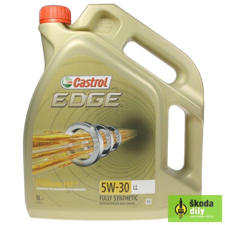castrol edge 5w 30 long life engine oil castrol edtit5w30ll. Black Bedroom Furniture Sets. Home Design Ideas