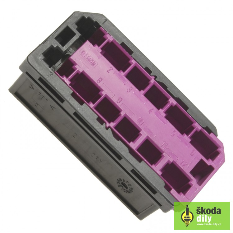 12 pin terminal block  u0160koda 8l0971978 skoda fabia 2009