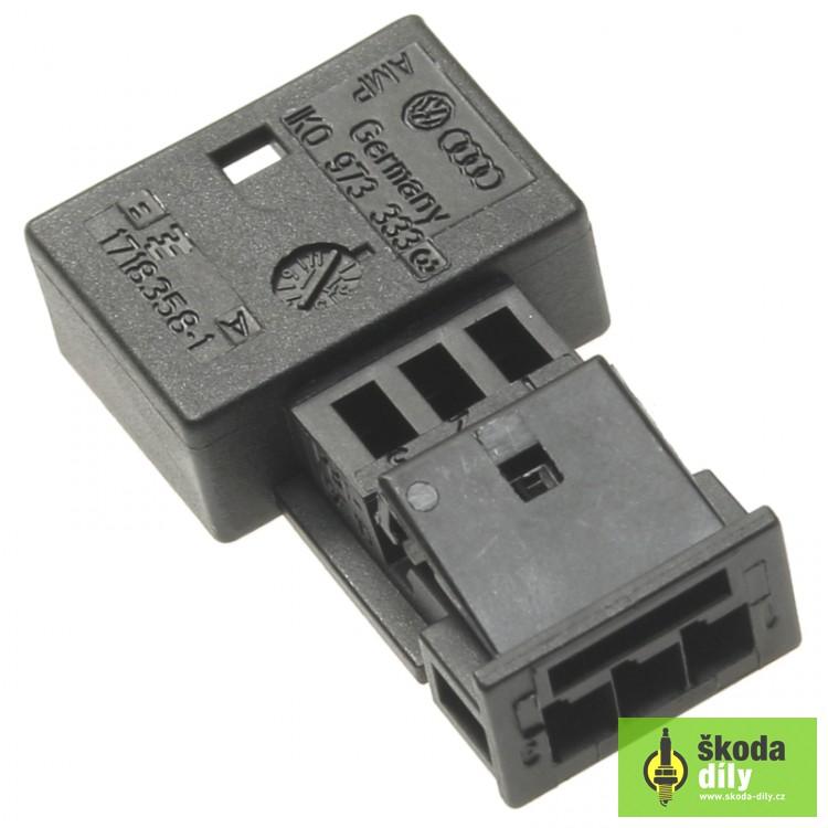 3-Pin Terminal Block Škoda