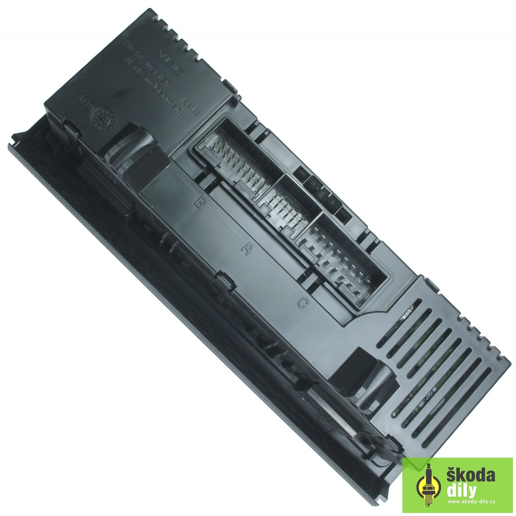 Climatronic Control Panel Škoda
