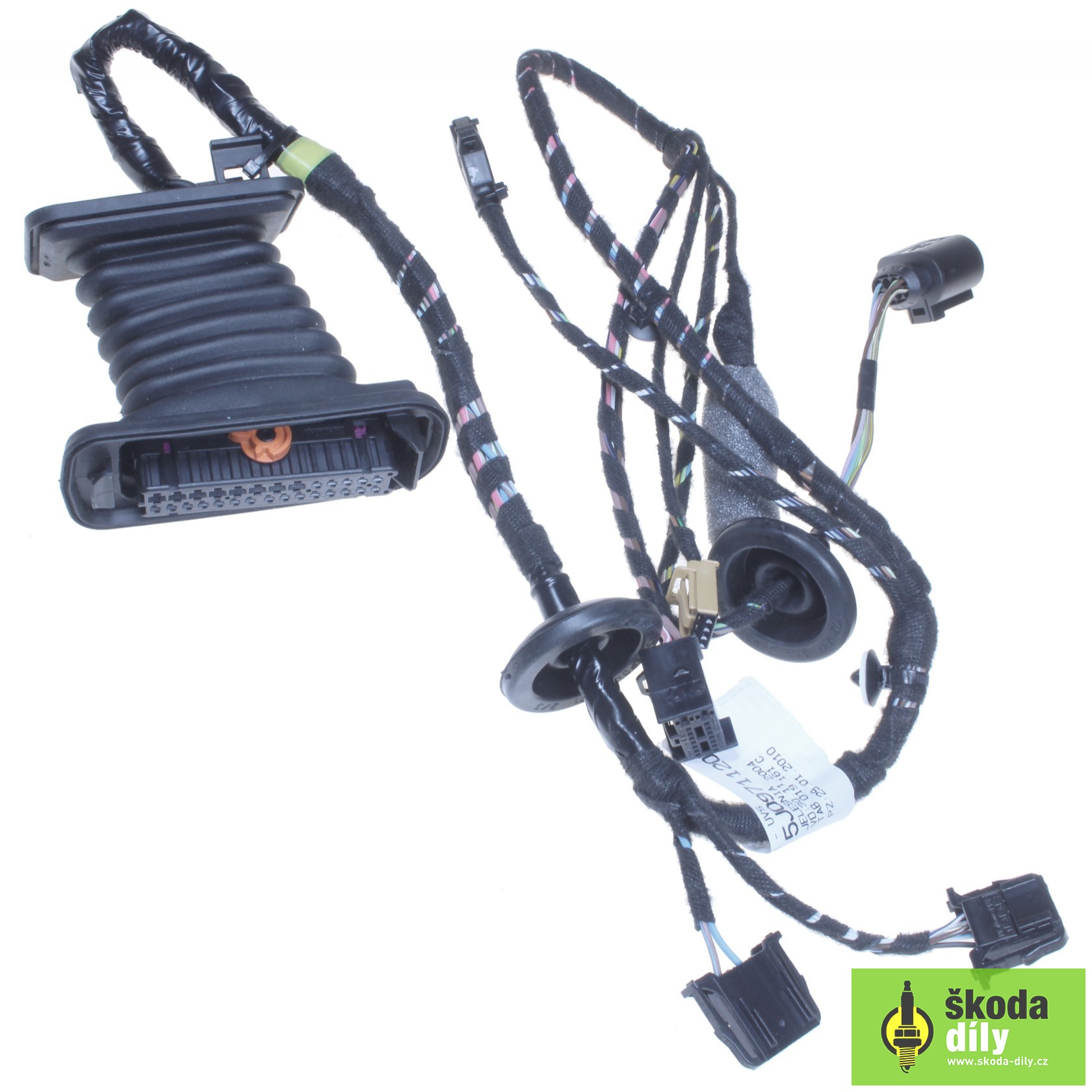 Front Left Door Electrical Wiring Installation Bundle Koda 5j0971120bc Skoda Harness Partscom