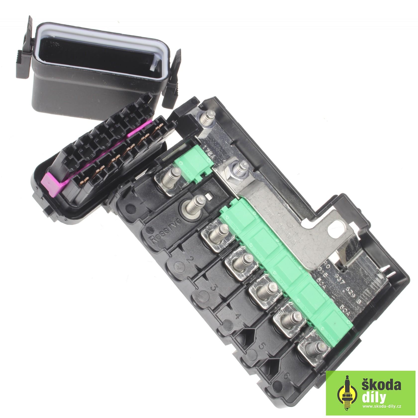 Fuse Box Škoda | Skoda-Parts.com