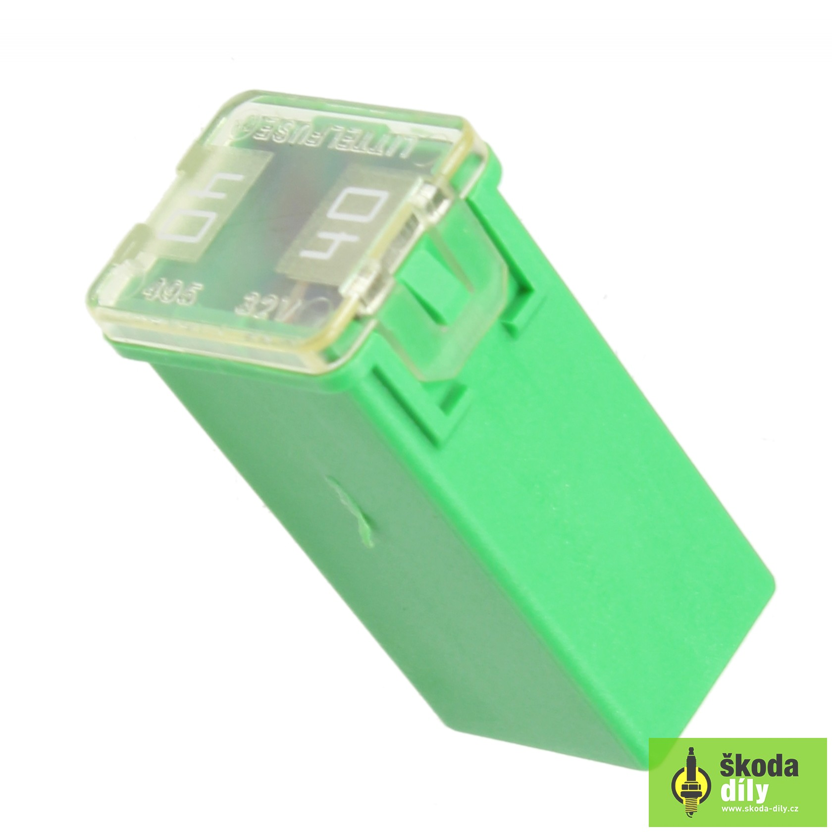 Plug In Fuse 40a Koda N91186304 Skoda Citigo Box Tip