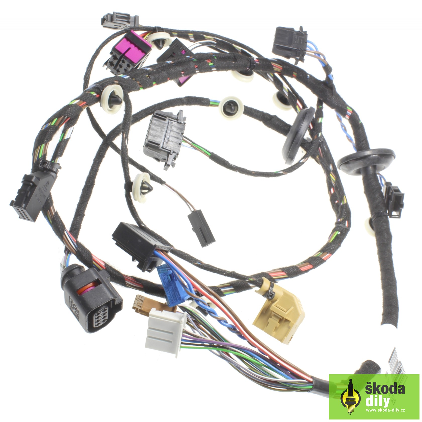 Marvelous Front Door Electrical Wiring Installation Bundle Skoda 6Y0971120Bm Wiring 101 Breceaxxcnl