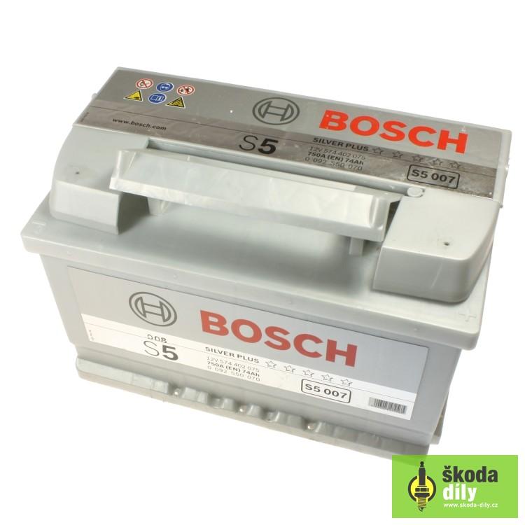 Car Battery Bosch S5 12v 74ah 750a Bosch Bo2s50070